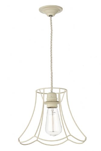 Oregon 1 Light Pendant Large Tealight Cream ORE8633 (7-10 day Delivery) (Class 2 Double Insulated)